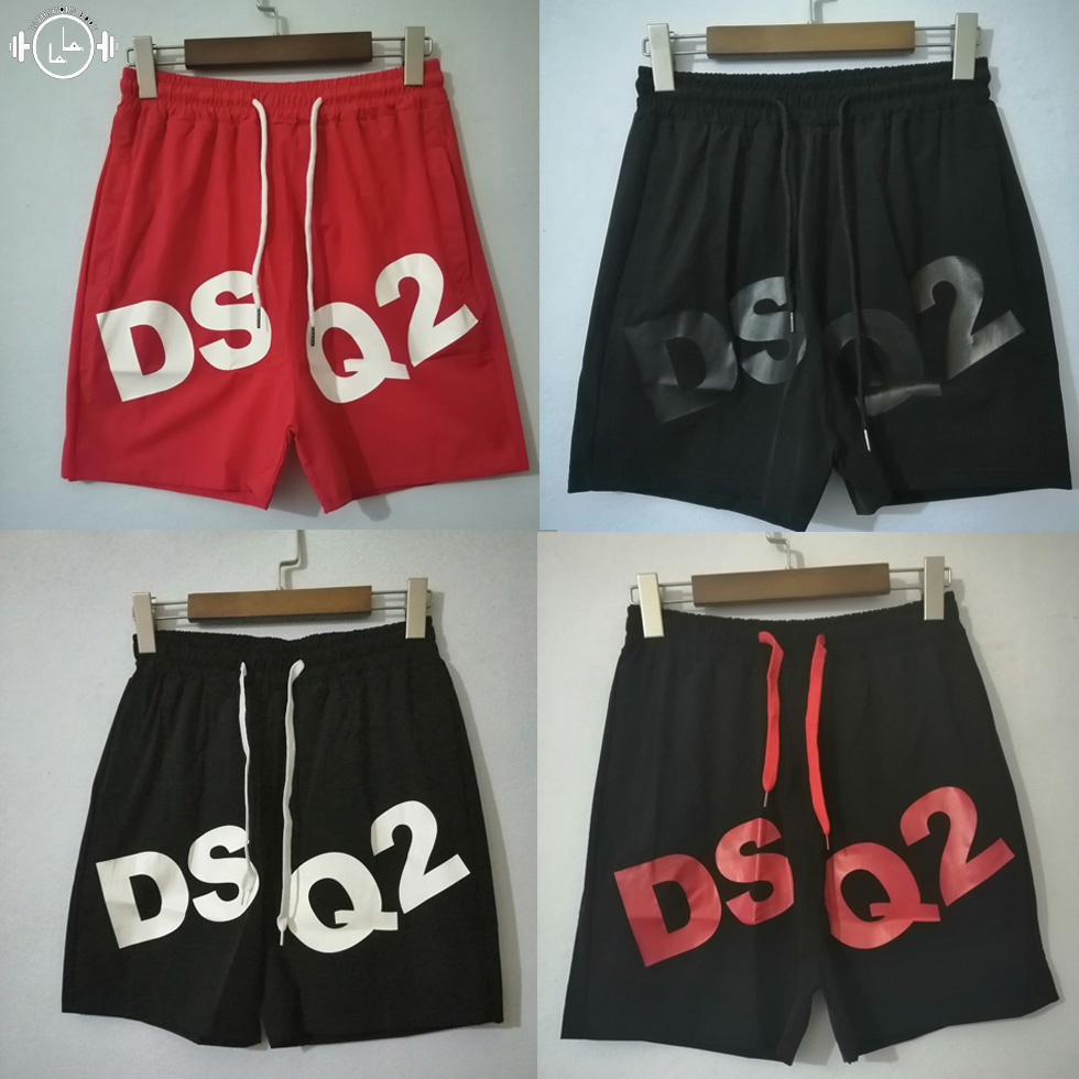 New Quick Dry Mens Letter printing Beach   Shorts   Summer   Board   Surf   Short   Swim Trunks Running Gym Man Elastic Sports   Shorts  #S040