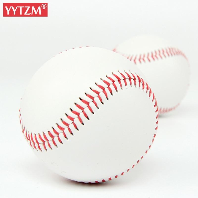 Baseball No. 9 Softball Hardball Training Handmade Balls Fitness Products White Safety Kid Baseballs Men's Practice Team Game
