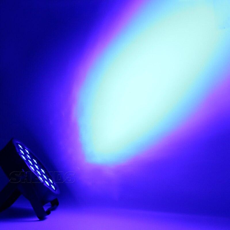 54x3W LED Par Light RGBW Disco Wash Light Equipment 8 Channels DMX 512 LED Uplights Strobe Stage Lighting Effect Light 12x3W 3