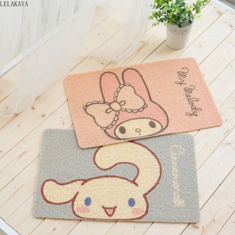 My Melody Cinnamoroll Dog Penguin Anime Rug Household Decoration Soft Carpet Cartoon Bedroom Floor Mats Anti-slip Bath Doormat