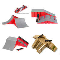 Newest Skate Park Ramp Parts for Fingerboard Finger Board Ultimate Parks Kids Toys for Children Fingerboard Finger Board