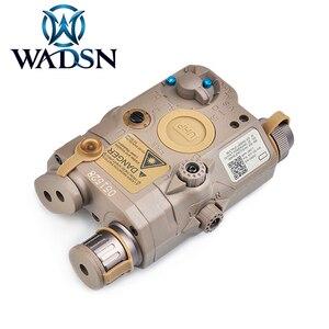 Image 4 - WADSN בלוק III אבזר ערכת כולל LA 5C/PEQ 15 נקודה אדומה לייזר WMX 200 טקטי פנס כפול מתג