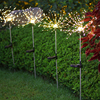 LED Solar Firework Lights Outdoor Waterproof Fairy Garland 90 150 LEDs Light String Garden Lawn Street Christmas Decoration discount