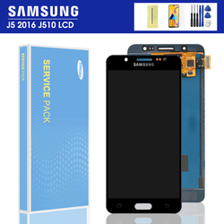 For Samsung Galaxy J5 2016 J510 LCD Display Touch Screen J510FN J510F J510M J510H /DS LCD Display Digitizer Assembly With Frame