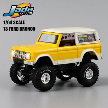 1:64 SCALE  JADA  TOYS  HIGH PROFILE  73 FORD BRONCO  RARE  COLLECTION 1