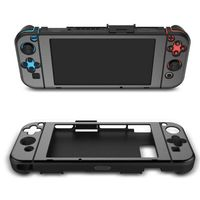 Professional Games Accessories FOR Switch Host Handle Metal Protective Shell Left And Right Handle Host Aluminum Case Cover