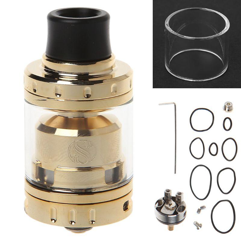 E-Cigarette Atomizer Tank Dia 24mm 2ml Single/Dual Coil Deck For Merlin Mini RTA