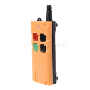 Image 3 - AK G06T Factory Supply High Grade Remote Control 315/433MHZ Wireless Industrial Crane Truck Remote Controller 4/6 Button Keys