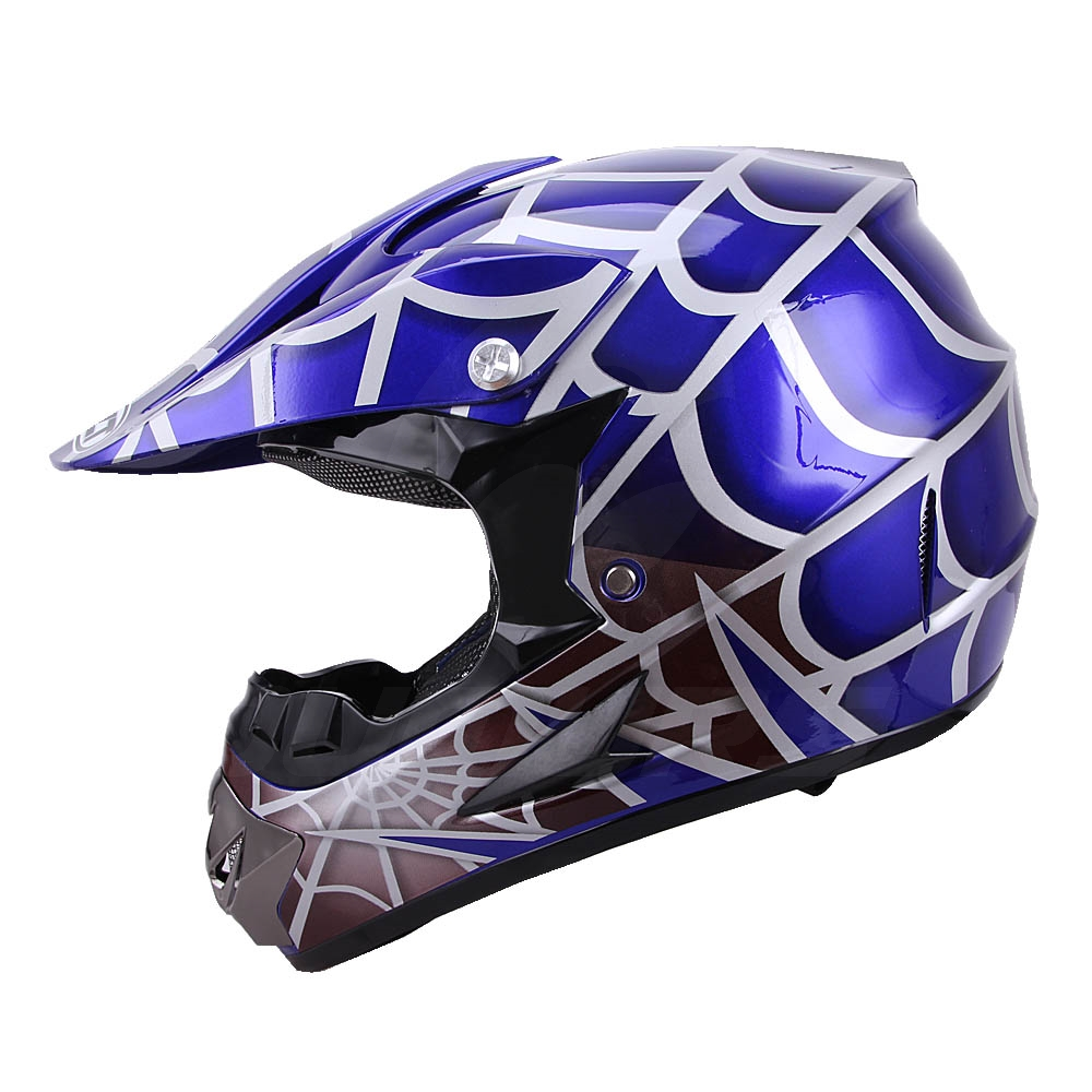 OUMURS DOT Cool Web Style Motorcycle Children Helmet 5