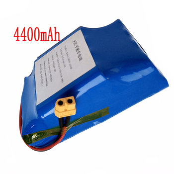 цена на 36V rechargeable li-ion battery pack 4400mah 4.4AH lithium ion cell for electric self balance scooter vehicle monocycle unicycle