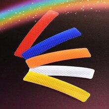 Safety anti-collision and diamond reflective film sticker for automobile wheel eyebrow