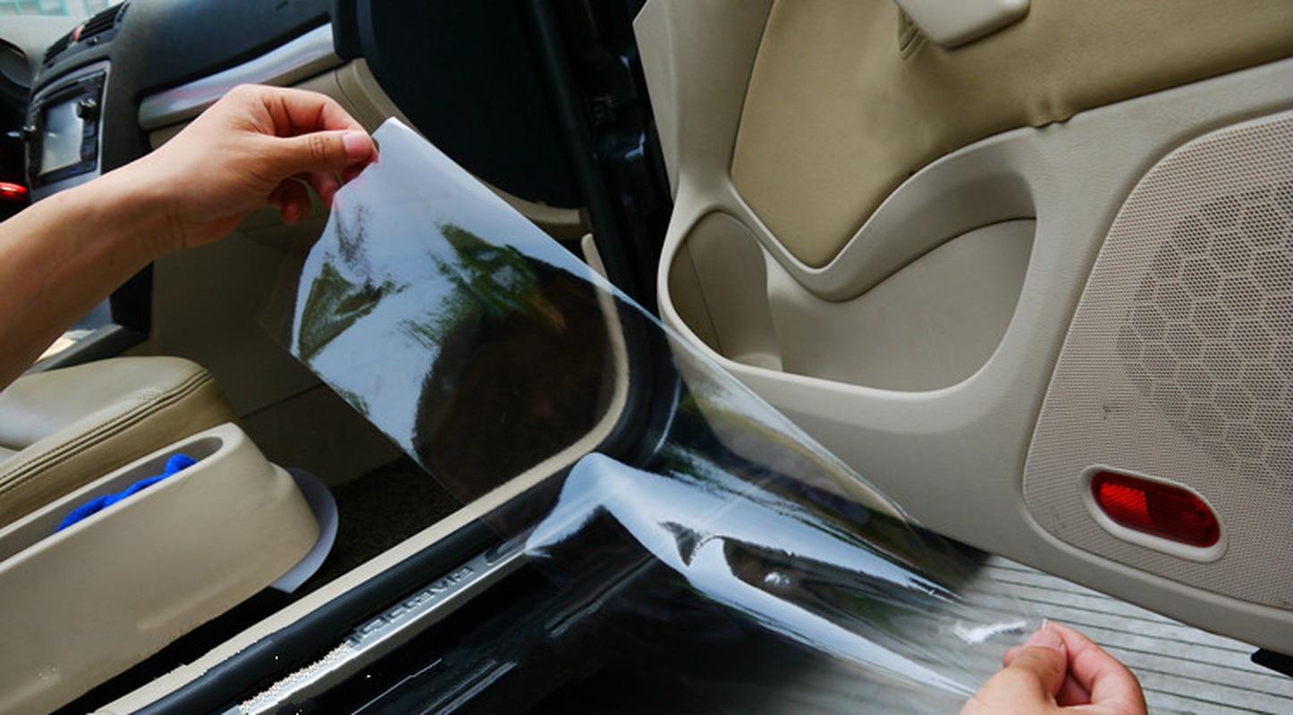 Car Protection Film Car Door Paint Anti-Scratch Vinyl 300*15cm OPVC Transparent