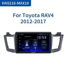 "Dasaita 10.2 ""IPS 1 Din אנדרואיד 10.0 מולטימדיה לרכב רדיו לטויוטה RAV4 2014 2015 2016 USB 4GB RAM MAX10 GPS Bluetooth"