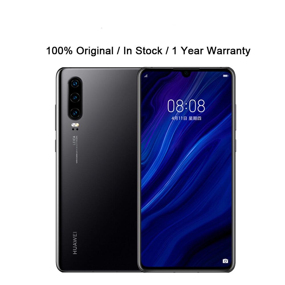 Глобальная версия HuaWei P30 ELE-L29 сотового телефона 6,1