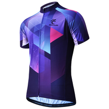 цена на Cycling  Jersey 2019 Pro Team Men Cycling Clothing Breathable MTB Bike Jersey Sleeve Short Bicycle Clothes Ropa Maillot Ciclismo