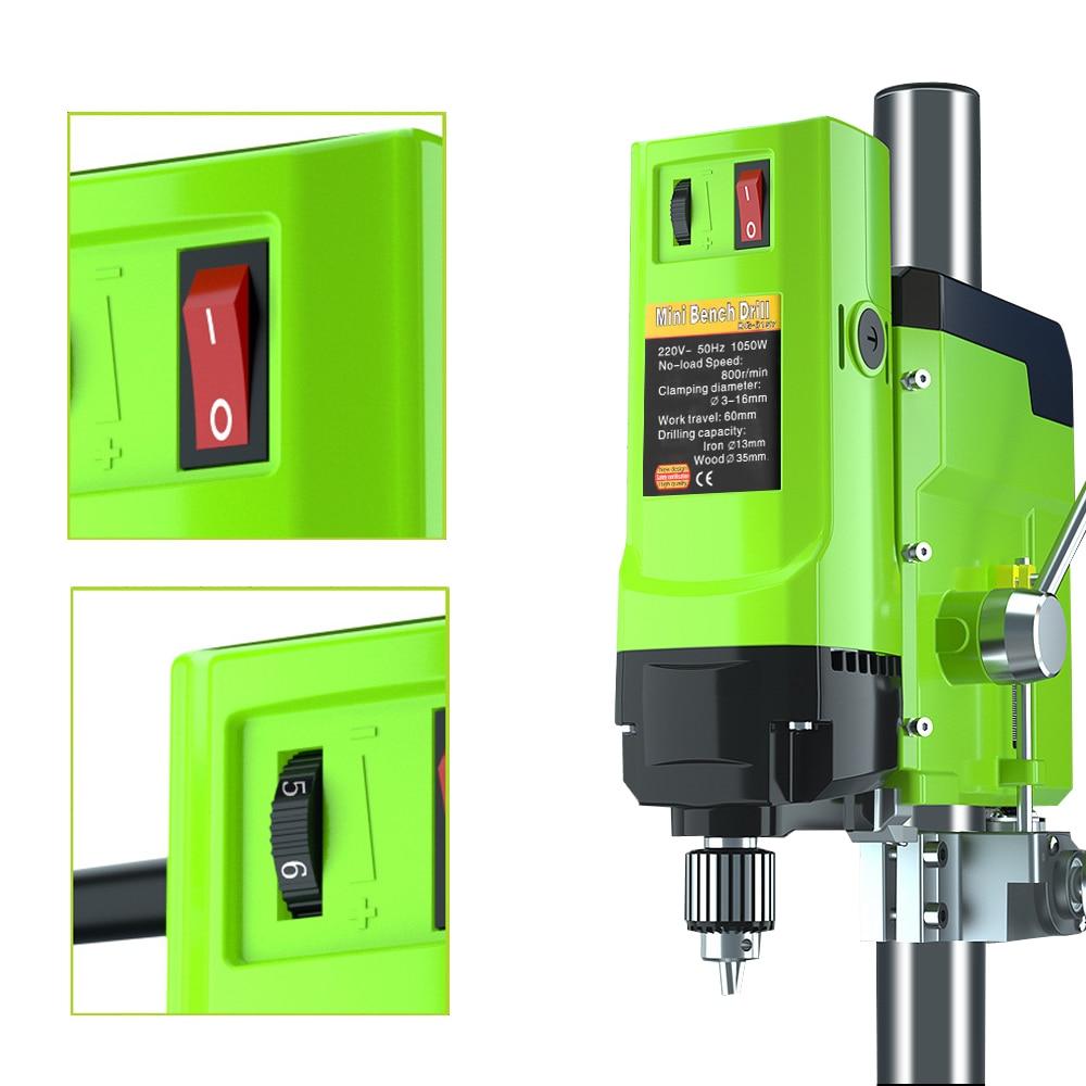 Tools : ALLSOME 1050W BG-5157 Bench Drill Stand Mini Electric Bench Drilling Machine Drill Chuck 3-16mm