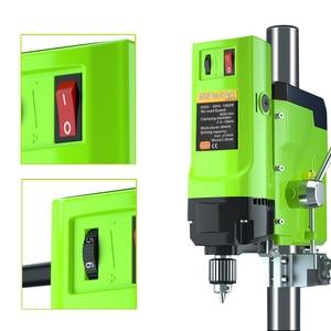 Image 3 - ALLSOME Mini perceuse détabli électrique, mandrin de perceuse de 1050W BG 5157 3 16mm