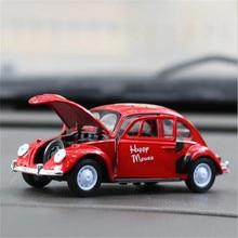 1:36 сплав Beatle Diecasts& Toy Vehicles модель машинки коллекция оттягивающаяся модель машинки детские игрушки подарки на Рождество и день рождения