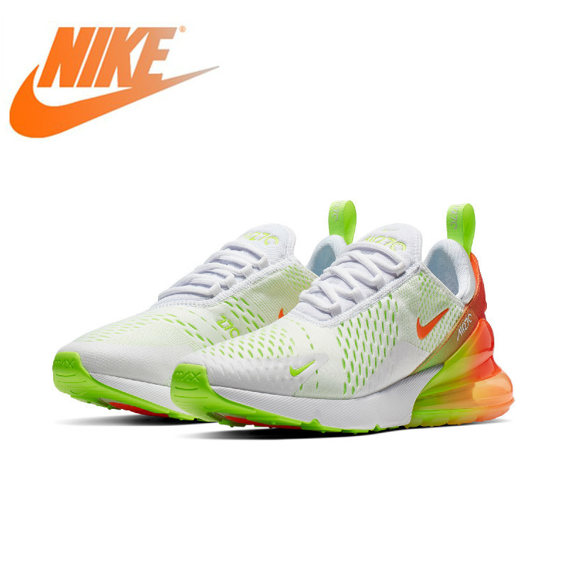 Original Authentic Nike Air Max 270 Men's Running Shoes Sports Sneaker Designer Breathable Outdoor 2019 New Arrival CN7077-181