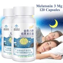 Melatonina para dormir de alta calidad, 3mg, 60 cápsulas