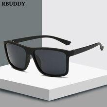 RBUDDY 2019 Sunglasses men Polarized Square sunglasses Brand Design UV400 protection Shades oculos de sol hombre glasses Driver цена и фото