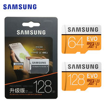 SAMSUNG Memory Card EVO microSD 128GB 64GB class 10 TF card Memoria Card microsd UHS-I For Sport Camera & mobile phone