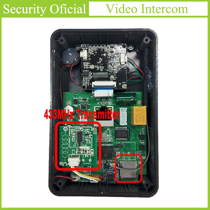 WIFI Doorbell 433MHz Chip For EBELL Home Wireless Indoor Dingdong Chime Matching For ATZ DBV01P/3P/4P-433Mhz Video Intercom