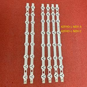 Image 2 - 6pcs LED תאורה אחורית רצועת עבור Hitachi 42HXT12U 42HXT42U 42HXT42UH 42LED450S 42LED400S 42PFL3008H12 L42510FHD PVR TE42182N25F1C10D
