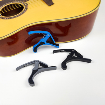 Capo universal acessórios de guitarra plástico capos para guitarras clássicas acústicas ukulele