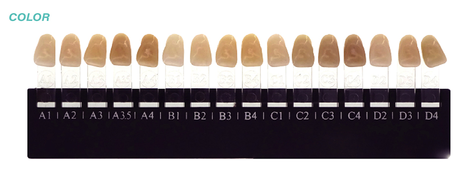 Digital zirkonzahn multicamadas zircônia discos 4dml95mm12mma1-d4