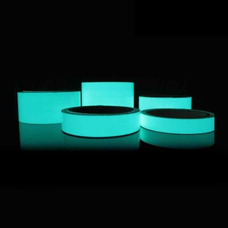 Luminous Tape 3M * * * * * * * 15 มม.Self-AdhesiveเทปNight Vision Glow In Darkคำเตือนความปลอดภัยการรักษาความปลอดภัยเวทีบ้านตกแต่งเทป