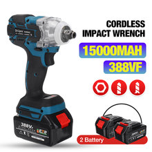 Impact-Wrench Power-Tool Li-Battery Electric Drillpro 388vf Brushless Cordless 1/2inch