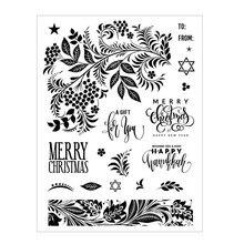 2020 novo natal corte de metal dados e selos scrapbooking para fazer papel férias tapeçaria gravando quadros cartão artesanato conjunto