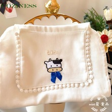 COZINESS Newborn Baby Sweat Absorbent Towel Cotton Baby Pad Back Towels Children Outdoor Necessary Hand Towel Free Shipping