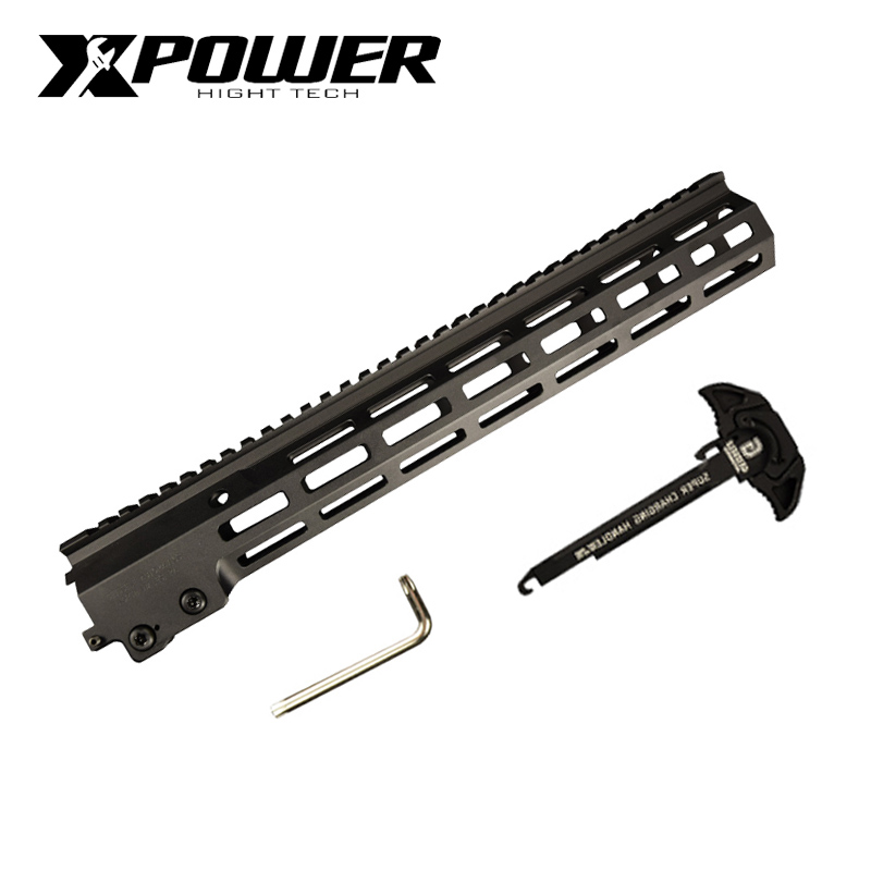XPOWER MK16 Rail Handguard Paintball Accessories Part  Fighting Bro Metal Refit Accessories Gel Blaster Toy Accessories