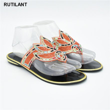 Slippers Wedding-Shoes Latest-Design African Women Slingbacks Italian Hot-Selling High-Quality