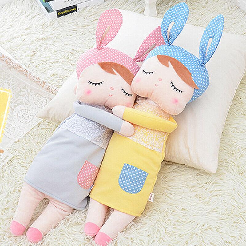 Metoo angela dormindo menina coelho coelho brinquedo de pelúcia hipopótamo bebê boneca brinquedo crianças unicórnio de pelúcia brinquedos de aniversário presente de natal