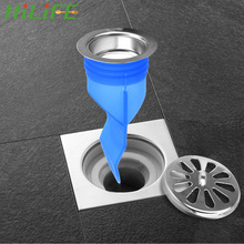 Sink Strainer Water-Pipe Sewer-Seal Bathroom-Odor-Proof Kitchen Anti-Clogging-Down The