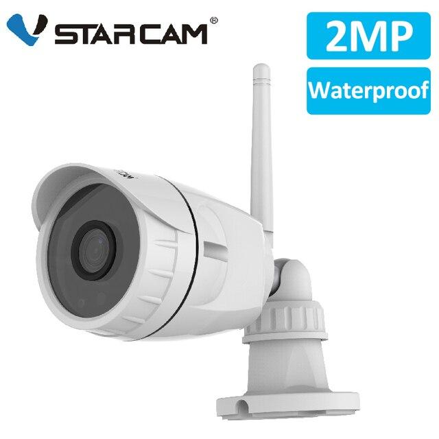 Vstarcam 1080P 2MP IP Camera Wifi Outdoor Camera IP66 Waterproof Security Surveillance Camera IR Cut CCTV Bullet IP Camera C17S