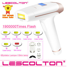 Lescolton 7in1 6in1 5in1 4in1 IPL Epilator Permanent Laser Hair Removal 1900000 Pulses depilador a laser Bikini Photoepilator