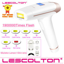 Lescolton 7in1 6in1 5in1 4in1 IPL Epilator Permanen Laser Hair Removal 1900000 Pulsa Depilador Laser Bikini Photoepilator(China)