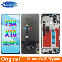 Original 6.63'' For Huawei Honor X10 5G Y9A FRL-L22 L23 Enjoy 20 Plus LCD Display Glass Screen Touch Digitizer Accessories