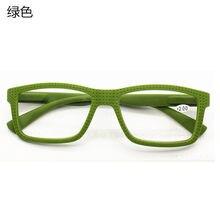 Nonor estilo quadrado moda masculina mulher óculos de leitura + 1.0 a + 4.0