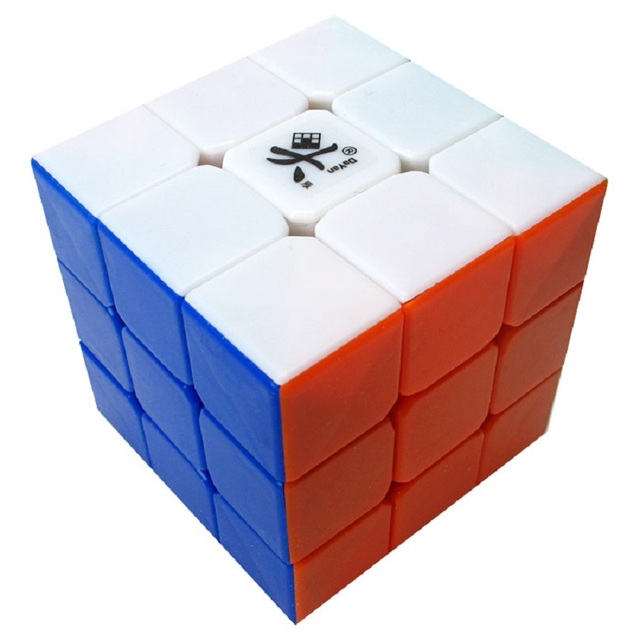 Promo Cheapest Magic Cube puzzle Dayan Guhong 2 V2 57mm 3x3x3 Cubing Speed  Puzzle Cubo Magico Kids Educational Toys 1