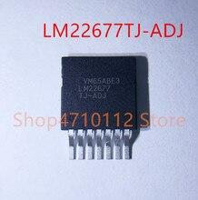 10PCS/LOT NEW LM22677TJ-ADJ LM22677TJ LM22677 ADJ TO-263