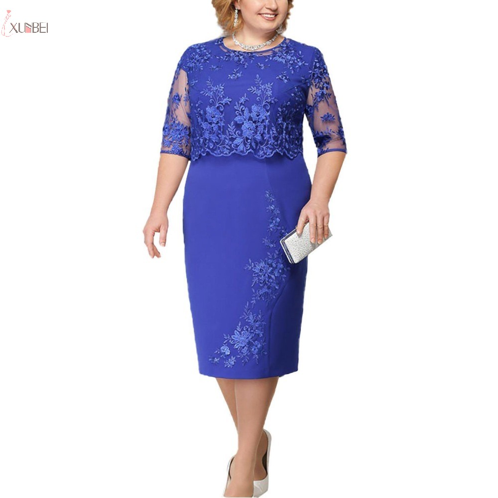 lace-plus-size-mother-of-the-bride-dresses-2019-scoop-neck-hal-sleeve-patchwork-wedding-guest-party-gown