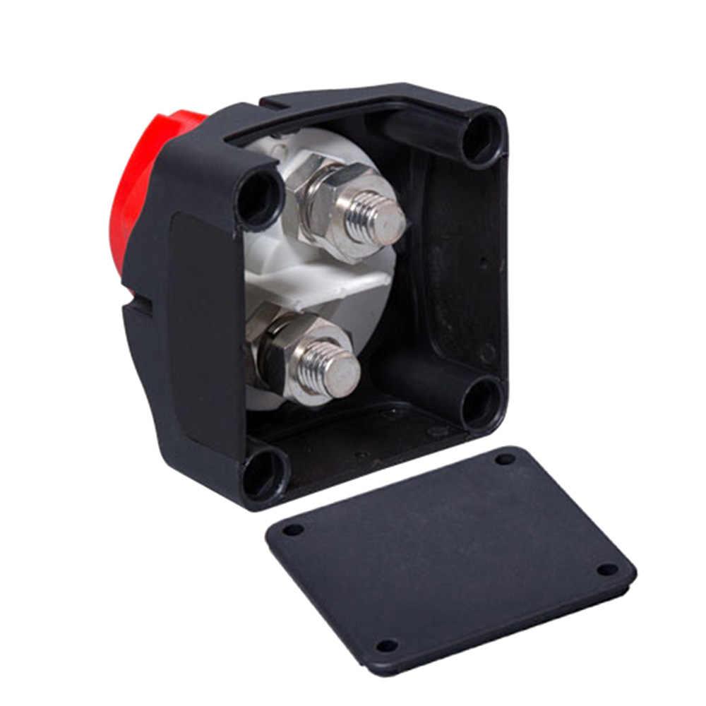 Baterai Putuskan Isolator Rotary Selector Switch CUT On/Off untuk Marine Perahu Mobil RV ATV Kendaraan