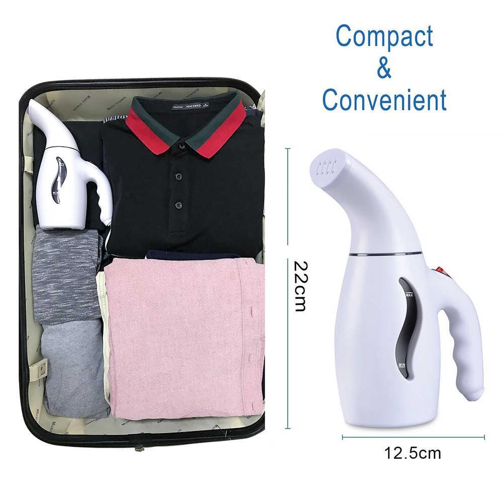 Portable Menyetrika Pakaian Mesin Steamer untuk Rumah Perjalanan Handheld Kain Steamer Vertical Iron Steam Sikat Uni Eropa Kami 110 220V