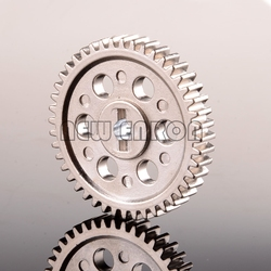 NEW ENRON Aluminum SPUR GEAR 44T 05112 RC 1/10 CAR HSP Off-Road Buggy Spare Parts SILVER