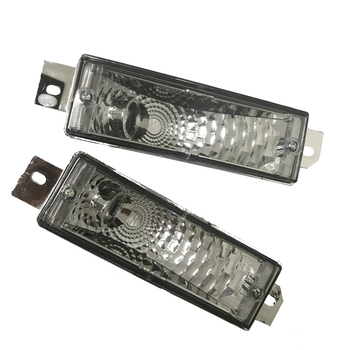 For BMW E30 M40 Reflector Indicator Blinker Front Bumper Corner Signal Light lamp Replacement 1983-1991 LH&RH image